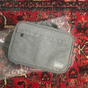 Handbags - Grey Make Up Bag
